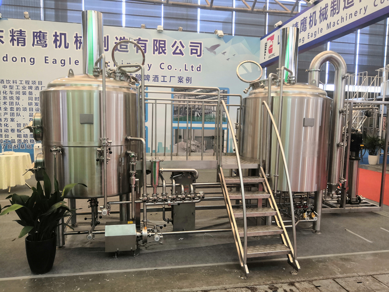 500L 5HL Beer bar Pub brewhouse for beer making equipment sale well in South America ZXF