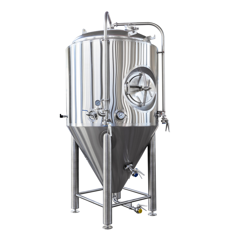 Stainless steel beer fermenter conical cooling tank 500L 5HL Jacketed FV for sale ZXF