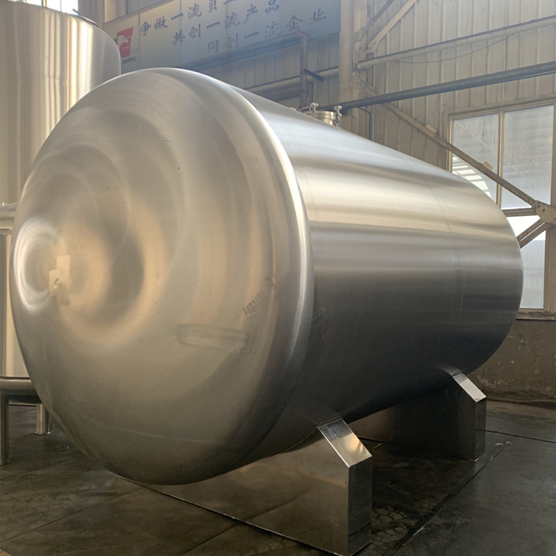 Double wall stainless steel beer making brewery fermentation tank Latvia agent
