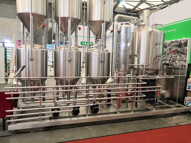 WEMAC Manufacturer Wholesale industrial beer making machine brewery pruduct ZXF