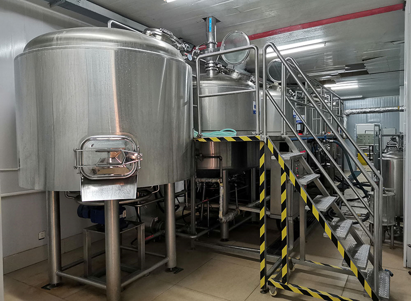 2000L 20HL 4vessels craft beer making machine sale well in restaurant  ZXF