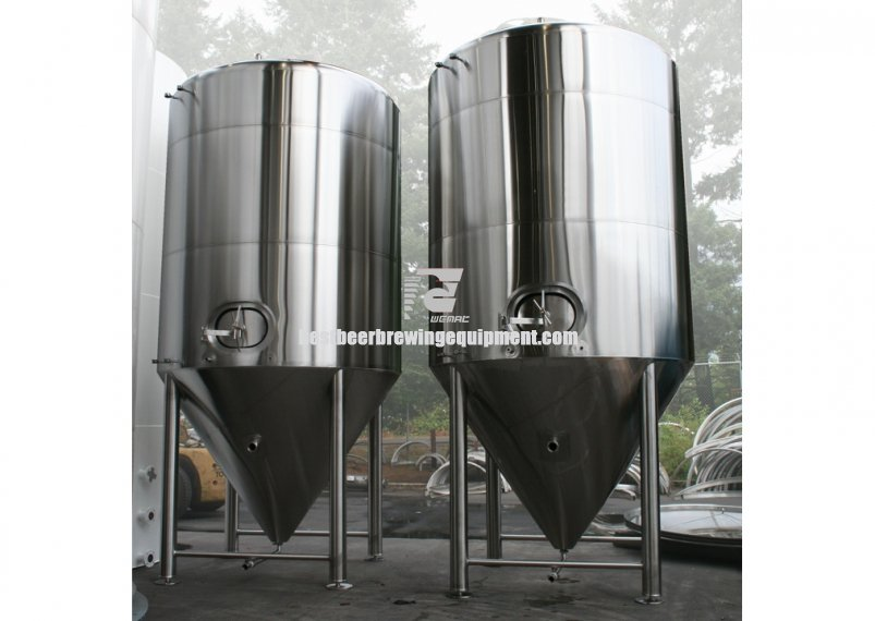 140BBL Vertical jacketed conical fermenter